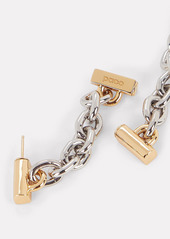 Paco Rabanne XL Link Chain Hoop Earrings