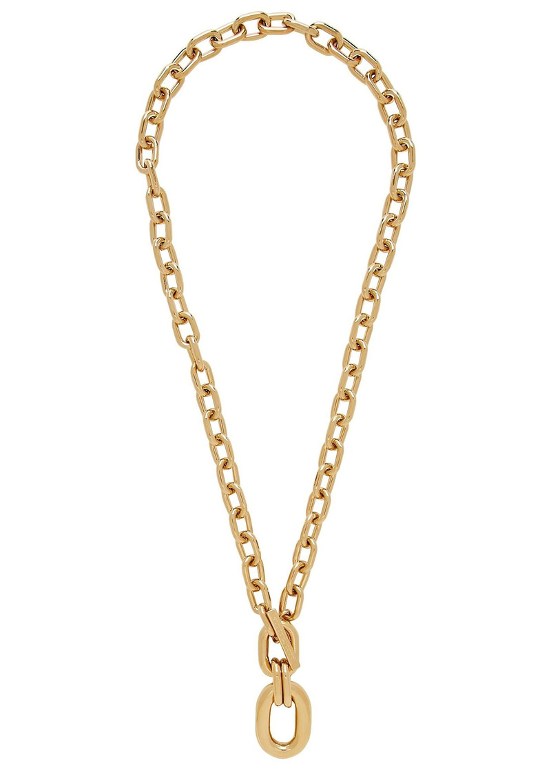 Paco Rabanne XL Link Pendant Chain Necklace