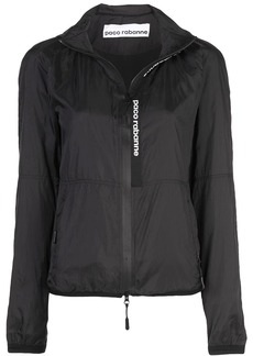 Paco Rabanne zipped fitted jacket