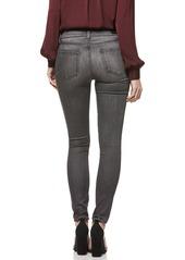 PAIGE Hoxton Transcend High Waist Skinny Jeans (Grey Peaks)