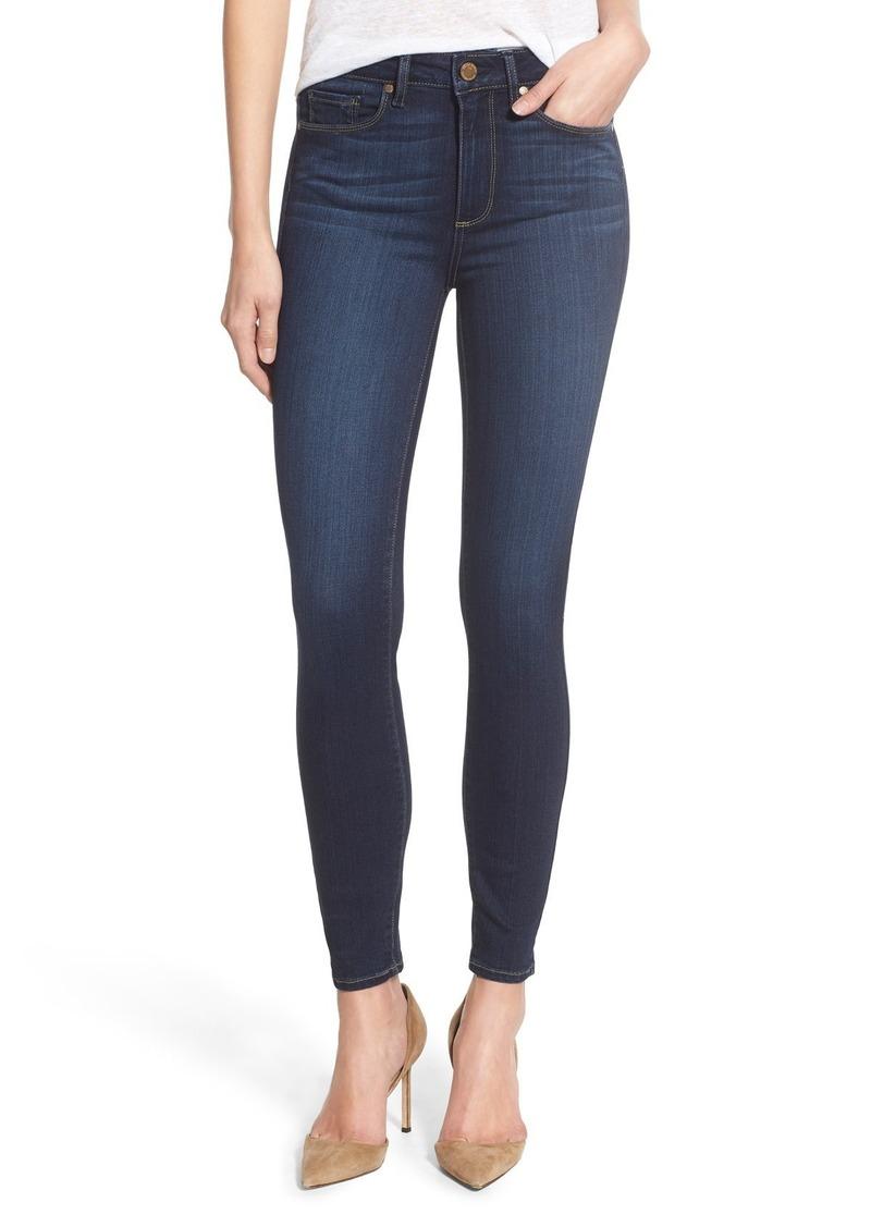 PAIGE Transcend - Hoxton High Waist Ankle Ultra Skinny Jeans (Hartmann)