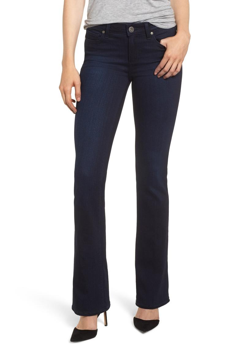 PAIGE Transcend - Manhattan Bootcut Jeans (Lana)