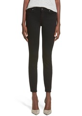 PAIGE Transcend - Verdugo Ankle Ultra Skinny Jeans (Black Shadow)
