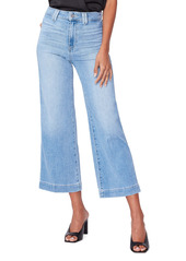 PAIGE Anessa High Waist Crop Flare Jeans (Connery)