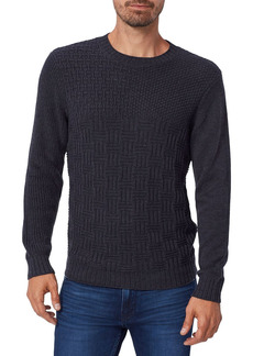 PAIGE Brock Patchwork Sweater