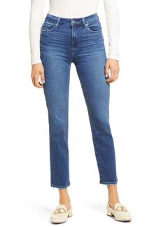 PAIGE Cindy Ankle Straight Leg Jeans (Stargaze Distressed)