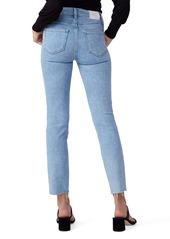 PAIGE Cindy Raw Hem Ankle Straight Leg Jeans (Park Ave)