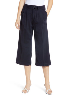 PAIGE Clarice Pleated Culotte Pants