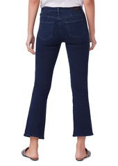 PAIGE Claudine Double Button High Waist Ankle Flare Jeans (Carden)