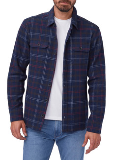 PAIGE Eastway Plaid Button-Up Flannel Shirt