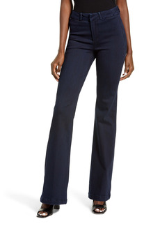 PAIGE Genevieve High Waist Flare Jeans (Premier)