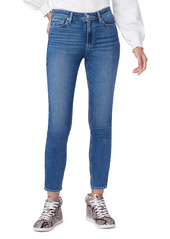 PAIGE Hoxton Ankle Skinny Jeans (Cabbie)