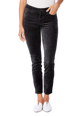 PAIGE Hoxton High Waist Ankle Skinny Jeans (Dark Spruce)