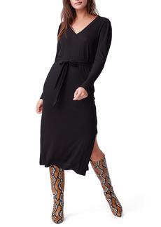 PAIGE Istus Long Sleeve Knit Midi Dress