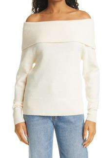 PAIGE Izabella Off the Shoulder Sweater
