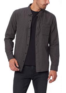 PAIGE Langford Gingham Check Button-Down Shirt