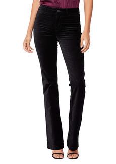 PAIGE Manhattan High Waist Stretch Velvet Pants