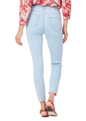 PAIGE Margot Ankle Skinny Jeans (Sunbleached Distressed)