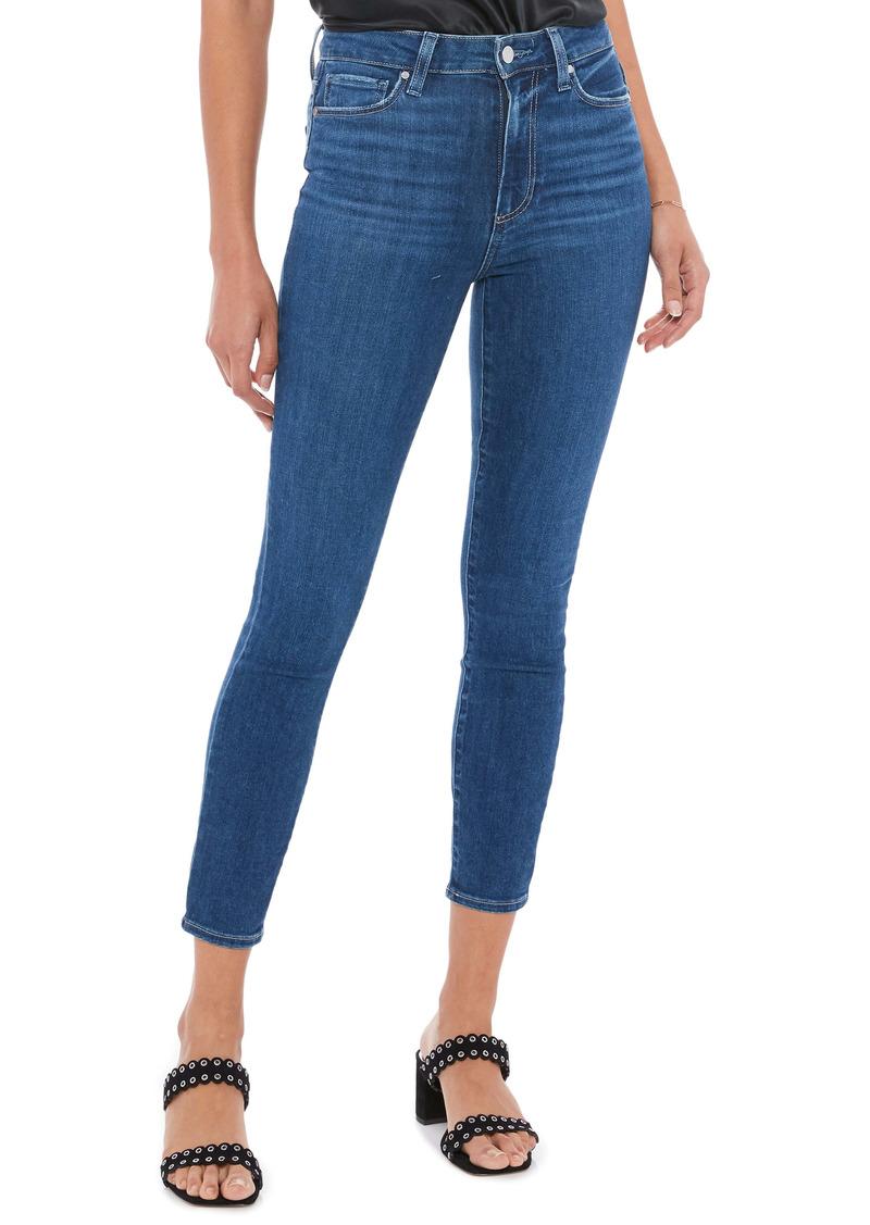 PAIGE Margot Crop Skinny Jeans (Bahia)