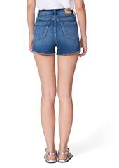 PAIGE Margot High Waist Cutoff Denim Shorts (Joni)