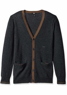 PAIGE Men's Caplan Cashmere Blend Cardigan  XL