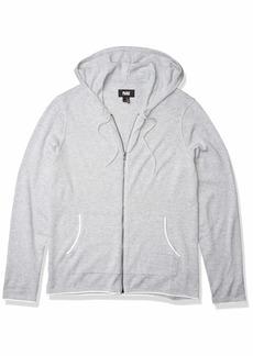 PAIGE Men's Erwin Full Zip Hooded Sweater  L