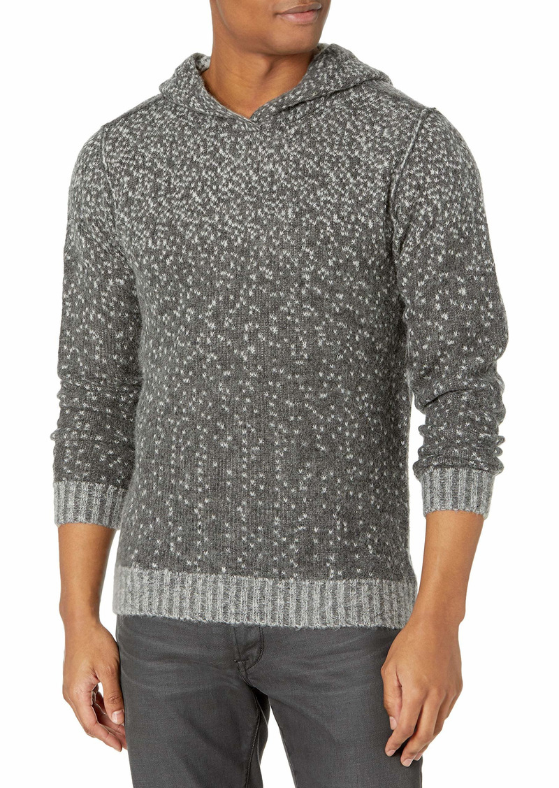 PAIGE Men's Haydon Reversible Sweater Knit Hoodie Sweatshirt  S