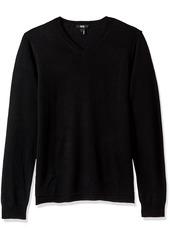 PAIGE Men's Ian V-Neck Cashmere Blend Sweater  L