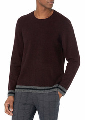 PAIGE Men's LINDBLADE Wool Blend Crewneck Sweater  S