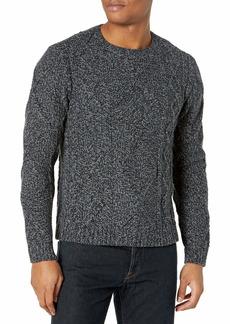 PAIGE Men's WESTCLIFF Cable Knit Crewneck Sweater  M