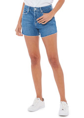 PAIGE Noella High Waist Cutoff Denim Shorts (Starley Distressed)