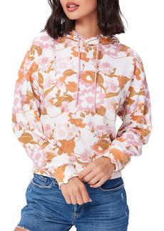 PAIGE Oakley Floral Cotton Blend Hoodie