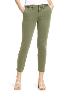 PAIGE Romy Stretch Cotton Crop Pants