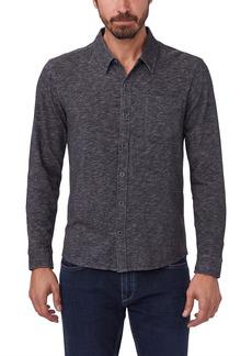PAIGE Stockton Slim Fit Cotton Blend Button-Up Shirt