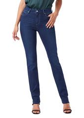 PAIGE Transcend Hoxton High Waist Straight Leg Jeans (Famous)