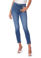 PAIGE Transcend Margot High Waist Crop Skinny Jeans (Tristan)