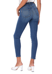 PAIGE Transcend Margot High Waist Crop Skinny Jeans (Tristan)
