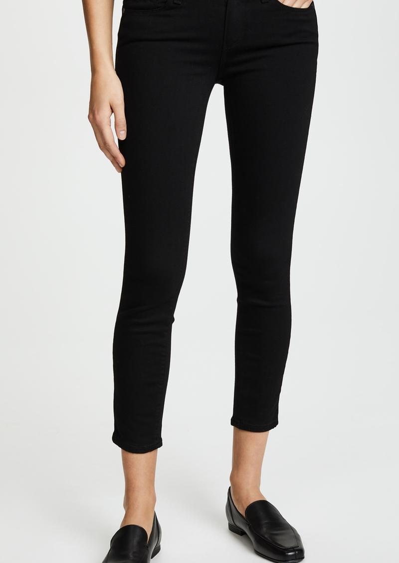 PAIGE Transcend Verdugo Skinny Cropped Jeans