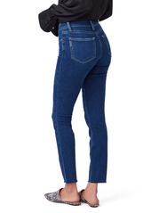PAIGE Verdugo Ankle Raw Hem Jeans (Soho)