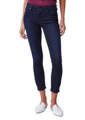 PAIGE Verdugo Mid Rise Crop Skinny Jeans (Lana)