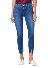 PAIGE Verdugo Mid Rise Twist Inseam Ankle Skinny Jeans (Graciella)