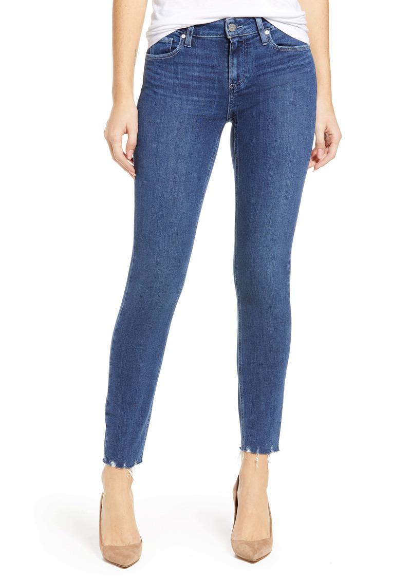 PAIGE Verdugo Raw Hem Ankle Skinny Jeans (Rhythm)