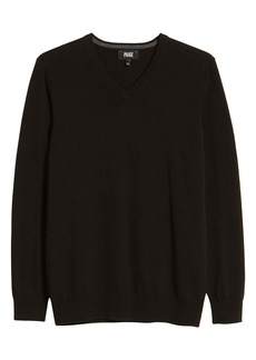 PAIGE Willard V-Neck Wool & Cashmere Sweater