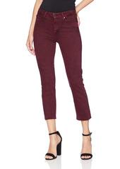 PAIGE Women's Hoxton High Rise Crop Straight Leg Jean