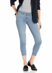 PAIGE Women's Verdugo Crop W/Raw Hem Jeans