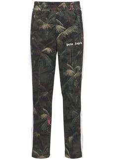 Palm Angels Jungle Print Tech Jersey Track Pants