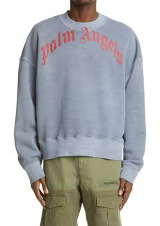 Palm Angels Vintage Wash Logo Sweatshirt