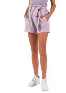 Petite Women's Pam & Gela Paperbag Waist Shorts