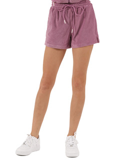 Petite Women's Pam & Gela Terry Gym Shorts