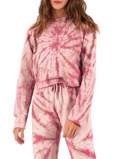Petite Women's Pam & Gela Tie Dye Long Sleeve T-Shirt